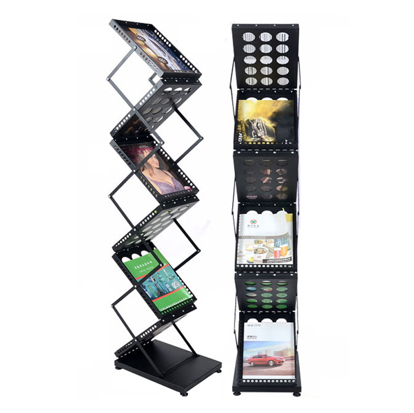 collapsible display rack