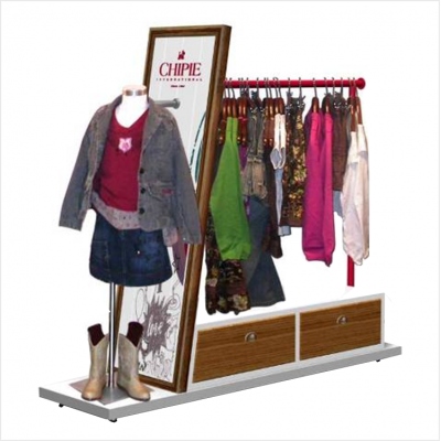Sport Garment Brand Display Fixture