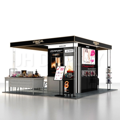 Custom Mall Cosmetic Display Kiosk